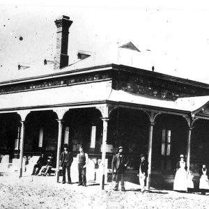 1890 - Silverton Hospital (Richard O'Connell - Centre)