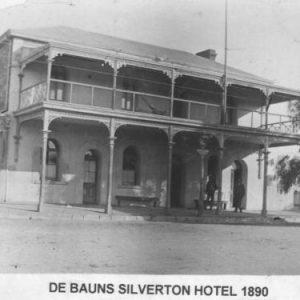 1890 - Silverton Hotel (DeBaurns)
