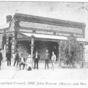 1892 - Silverton Municipal Council