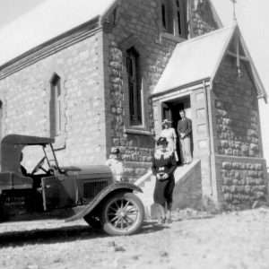 1949 - Catholic Church (Mrs Wythe & John Greg)